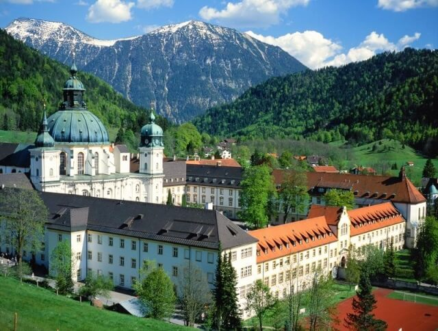 Ettal Abbey and Monastery