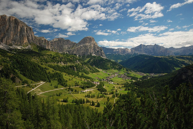The Colfosco Panorama Path – a walking highlight in Alta Badia